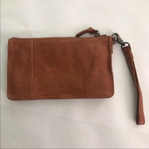 ANTHROPOLOGIE•Day & Mood | Anni Leather Wristlet